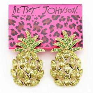 BETSEY JOHNSON~ Pineapple Earrings